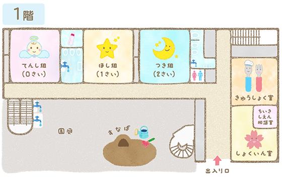1階フロアマップ